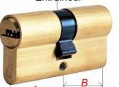 Cylindre, canon de serrure pas cher.