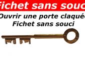 Porte claquée Fichet.
